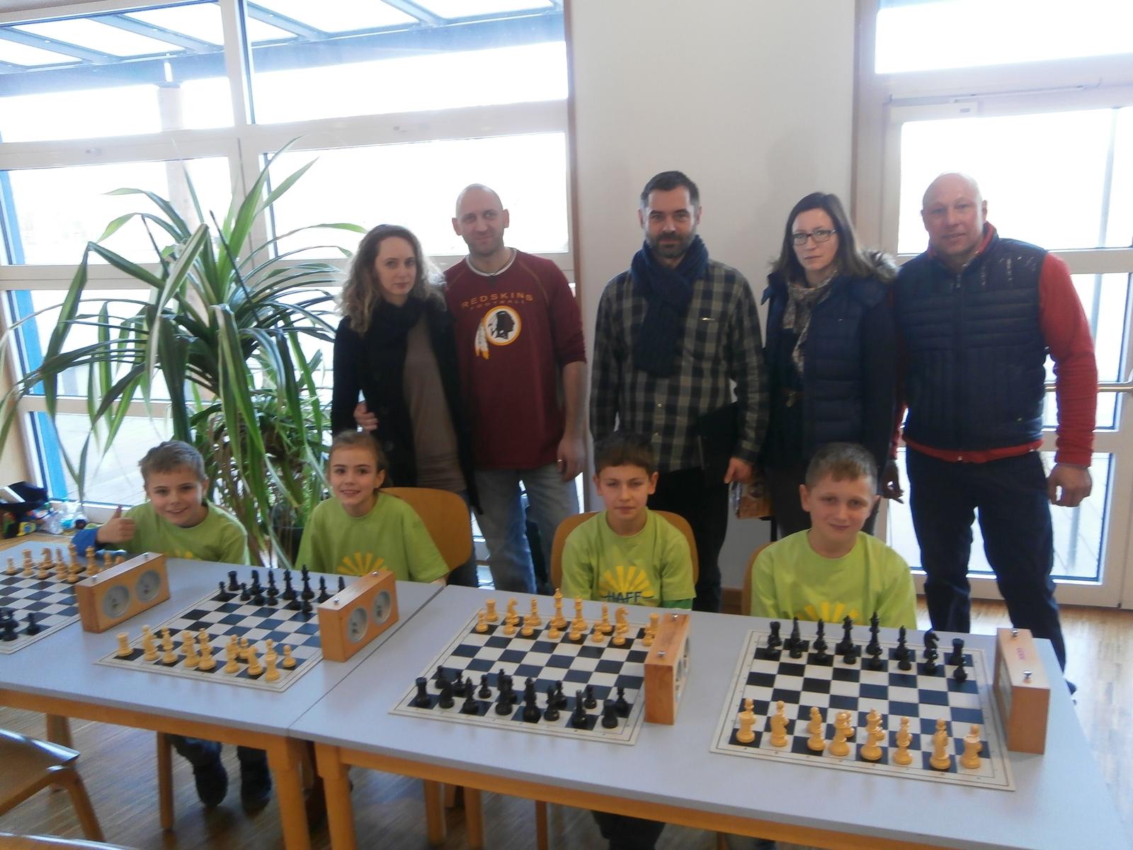 Schulschachmeisterschaften 2015 Neubrandenburg - Teil 1
